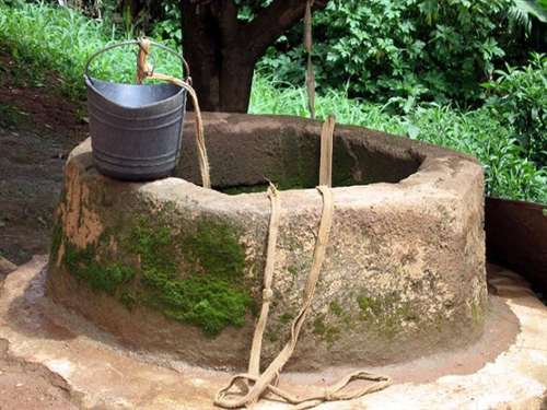 حکایت مشکل چاه آب روستا